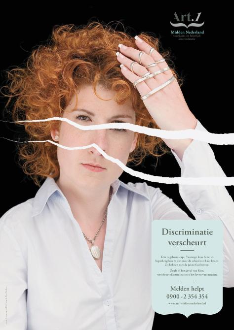 "City-Light-Poster ""Frau mit Behinderung"""