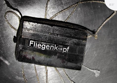 "Postkarte ""Fliegenkopf"""