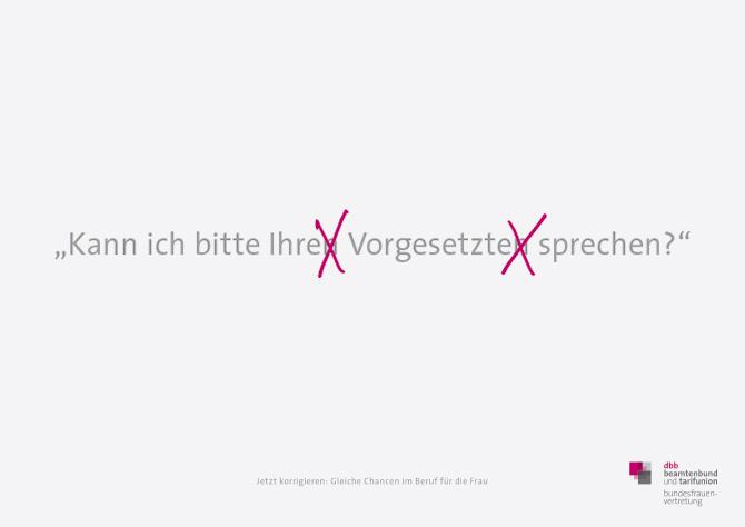 """Plakat """"Vorgesetzte"""""""